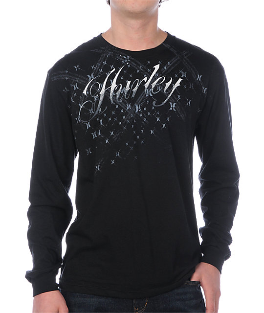 Hurley Astro Flocker Black T-Shirt