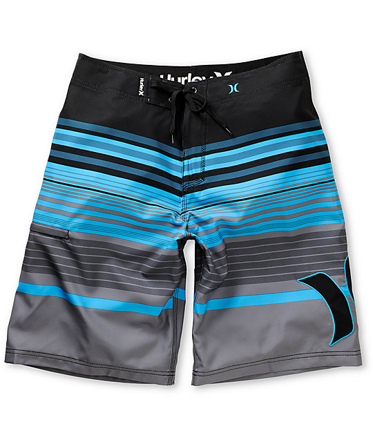 Hurley Barra Phantom 60 Black Board Shorts