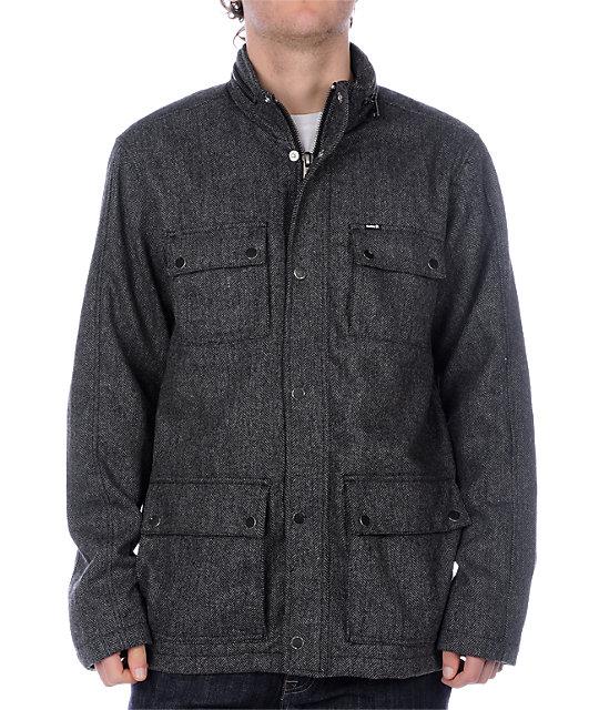 Hurley Bowery Grey Jacket