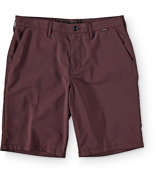 Hurley Dri Fit Mahogany Chino Shorts