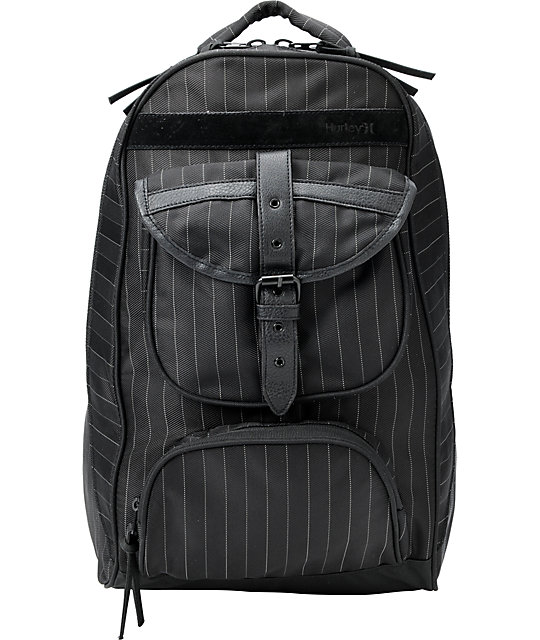 Hurley Fusion Black Laptop Backpack