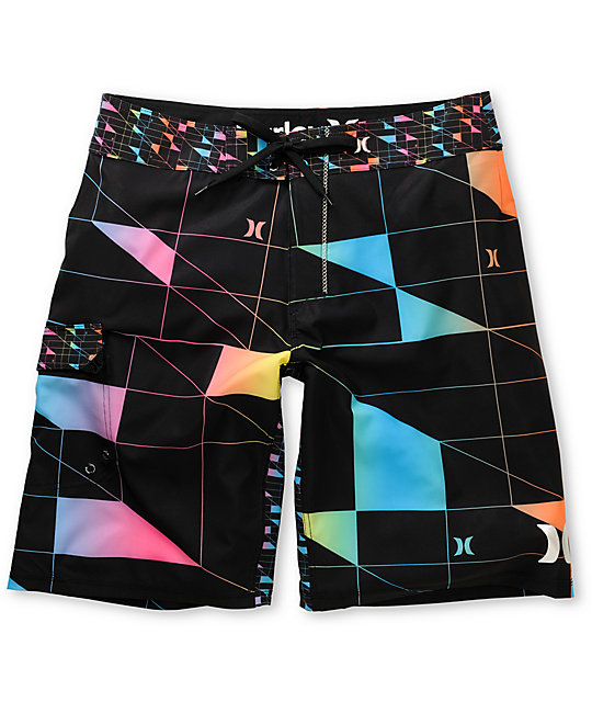 Hurley Geo Phantom 60 Black Board Shorts