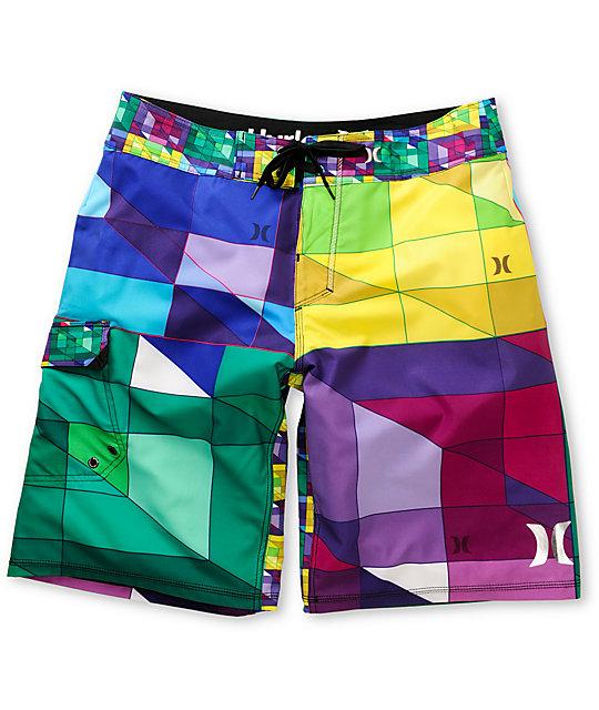 Hurley Geo Phantom 60 Green Board Shorts