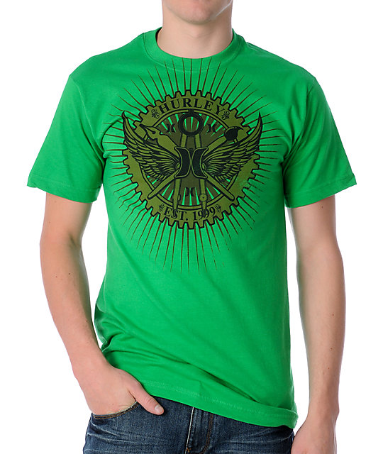 Hurley Get Some Green T-Shirt
