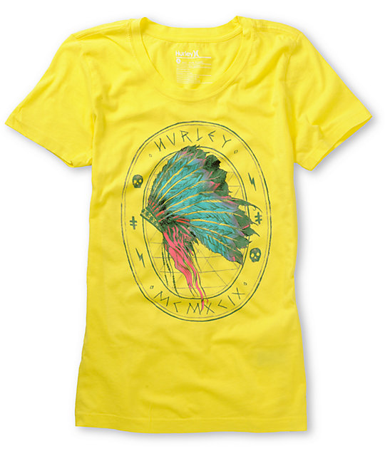 Hurley Ghost Stories Yellow T-Shirt