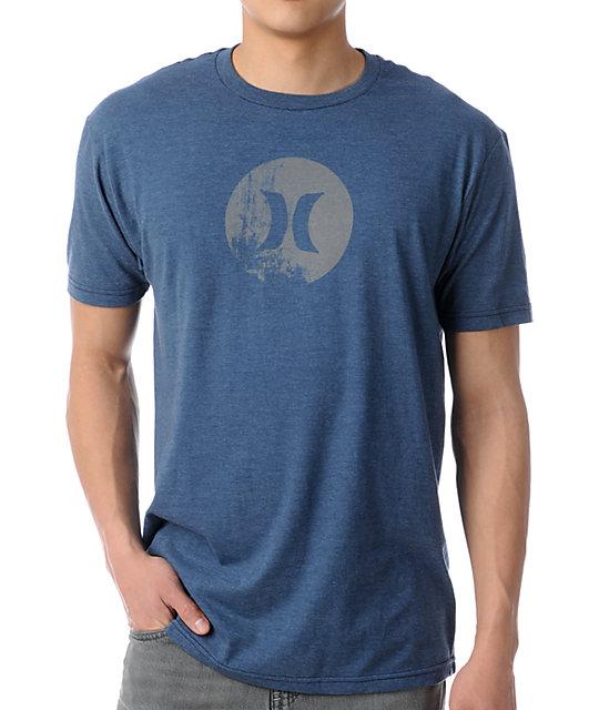 Hurley Icon Krush Heather Navy T-Shirt