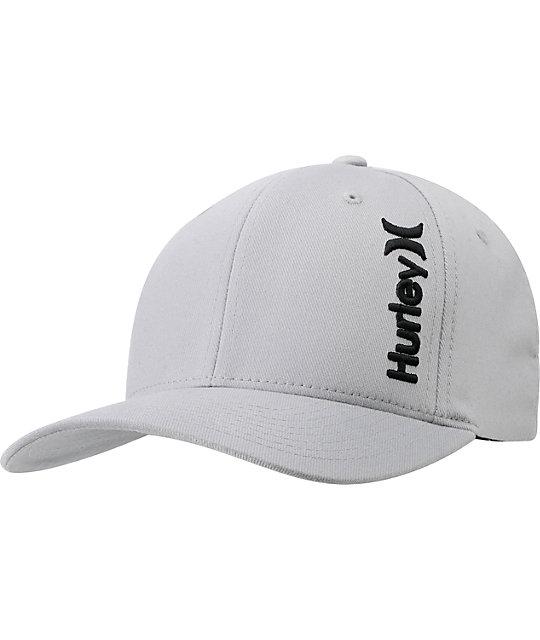 Hurley Incorporate Flexfit Grey Hat