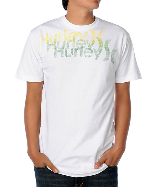 Hurley Lineage White T-Shirt