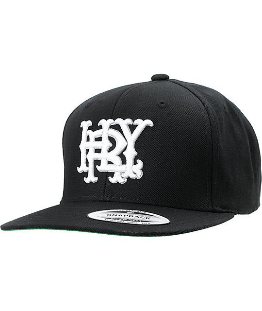 Hurley Major Leagues Snapper Black Snapback Hat