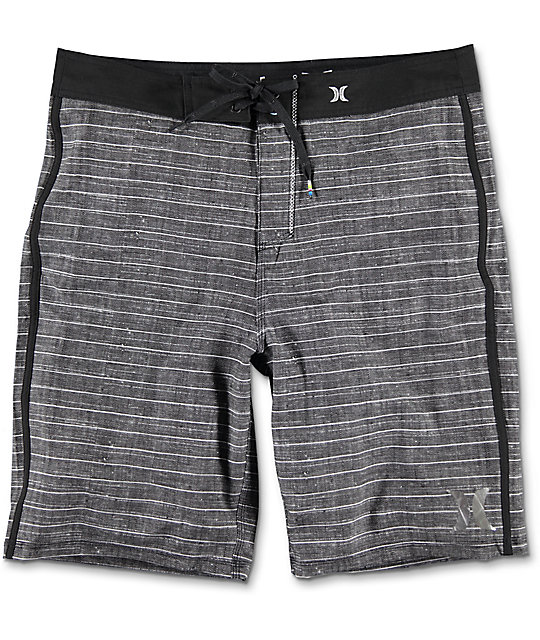 Hurley Phantom Driftwood Black Board Shorts