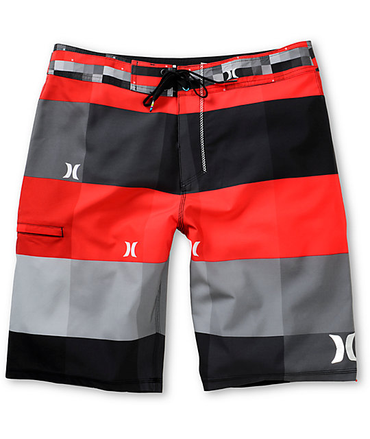 Hurley Phantom Kingsroad 2 Red 21 Board Shorts
