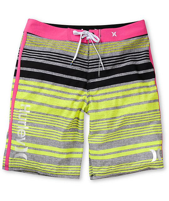 Hurley Phantom Ragland Magenta 21 Board Shorts