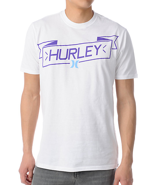 Hurley Slanter Magee White T-Shirt