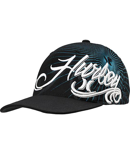 Hurley Slingshot Grey Flexfit Hat