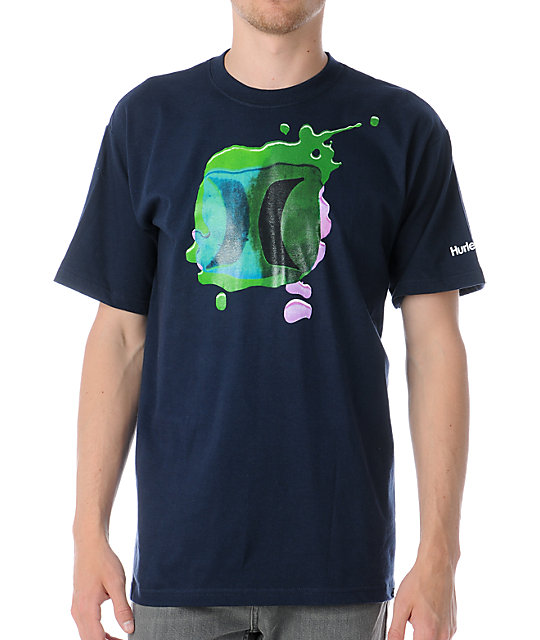 Hurley Tints Navy T-Shirt