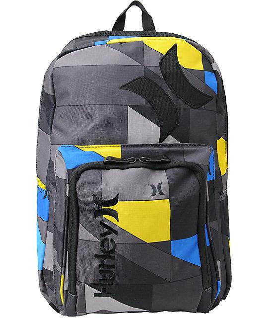 Hurley Vapor Grey Laptop Backpack