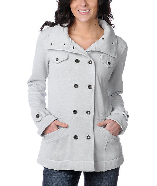 Hurley Winchester Fleece Grey Jacket