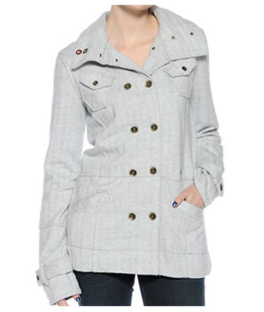 Hurley Windchester Grey Jacket
