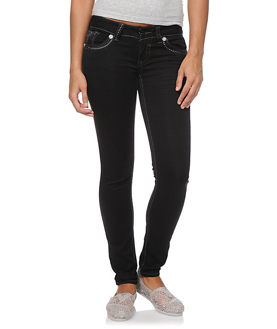Hydraulic Bailey Black Jeggings