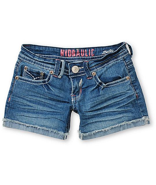 Hydraulic Brookie Cuffed Cut Off Shorts
