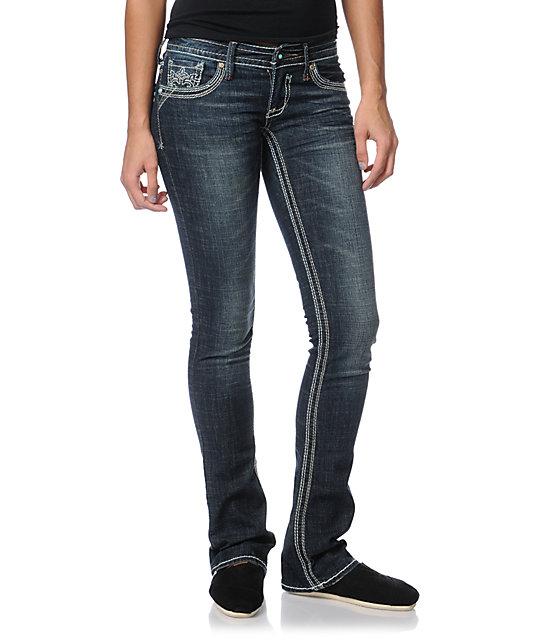 Hydraulic Mariah Dark Inidgo Bootcut Jeans