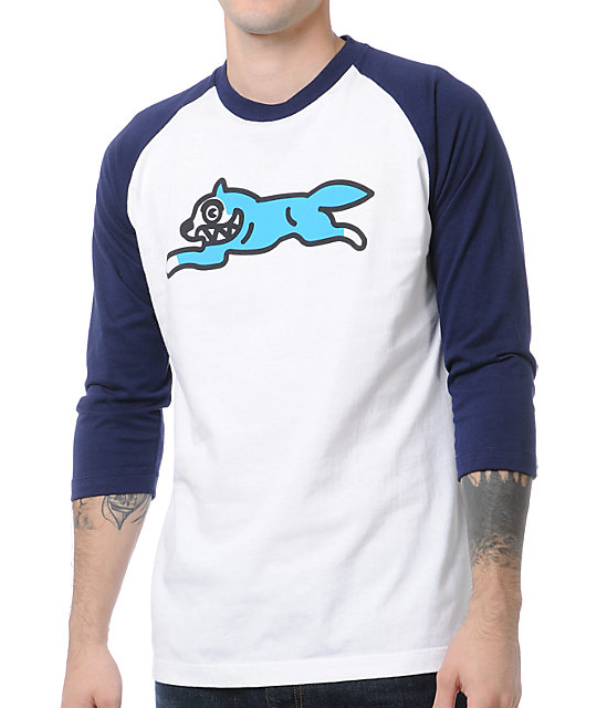 ICECREAM Running Dog 2 Baseball T-Shirt