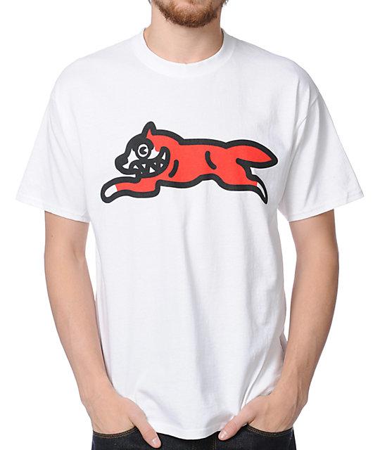 ICECREAM Running Dog 2 White T-Shirt