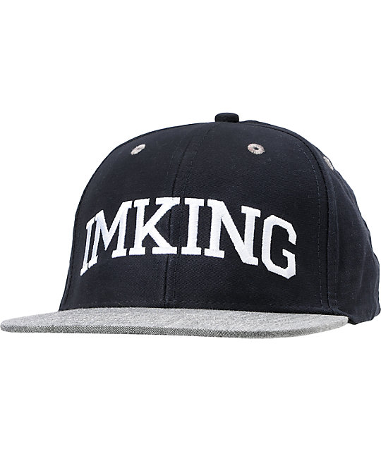 IMKing Block Party Navy Snapback Hat