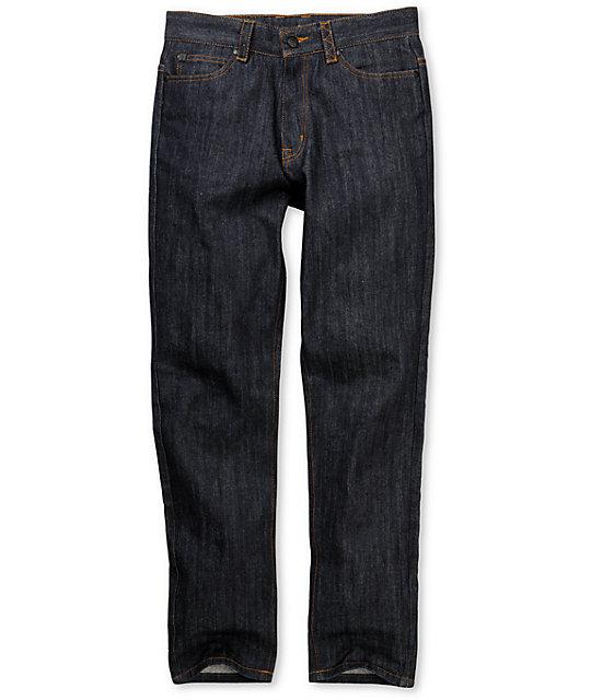 IMKing Vancouvers Raw Dark Blue Regular Fit Jeans