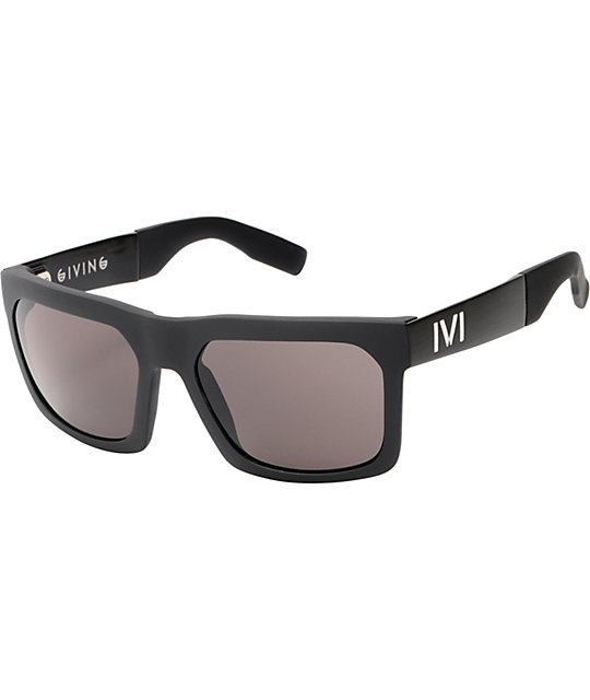 9de65356963 ... Ivi Sunglasses ivi giving matte black grey sunglasses