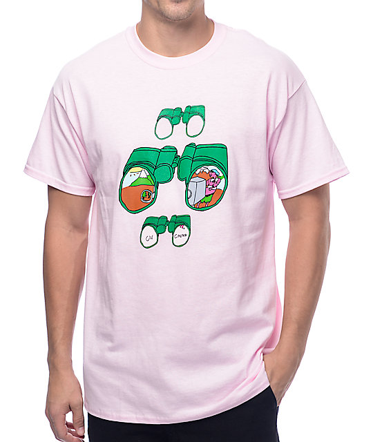 Illegal Civilization Binocular Pink T-Shirt