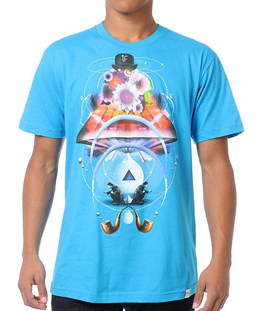 Imaginary Foundation Andromedan Blue T-Shirt