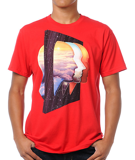 Imaginary Foundation Being There Red T-Shirt