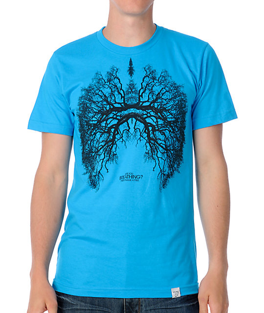 Imaginary foundation breathing teal t shirt at zumiez pdp for Boys teal t shirt