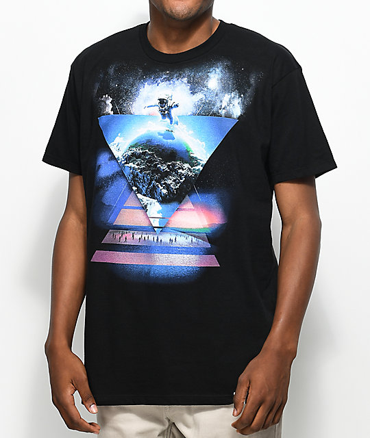 Imaginary Foundation Encounter Black T-Shirt