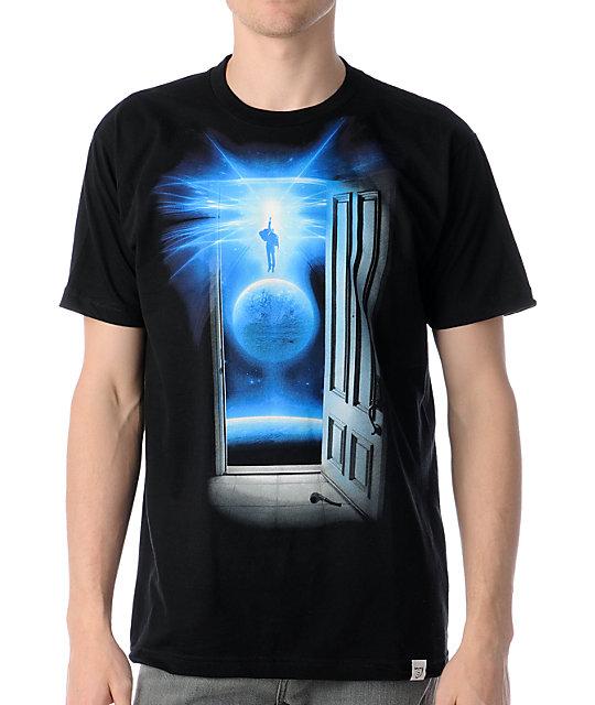 Imaginary Foundation Entrance Black T-Shirt
