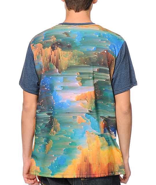 Imaginary Foundation Glitch Sublimated T-Shirt