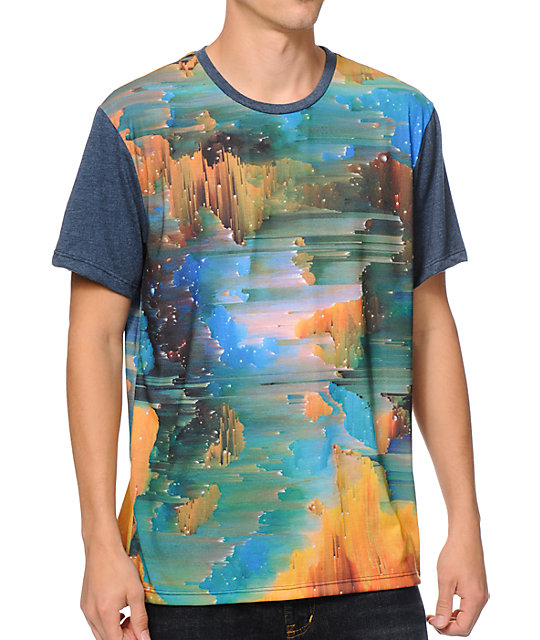 Imaginary Foundation Glitch Sublimated T-Shirt
