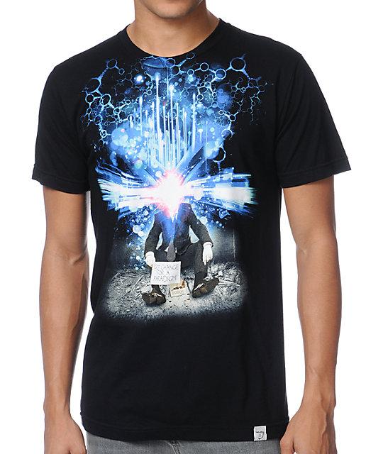 Imaginary Foundation Got Change For A Paradigm Black T-Shirt