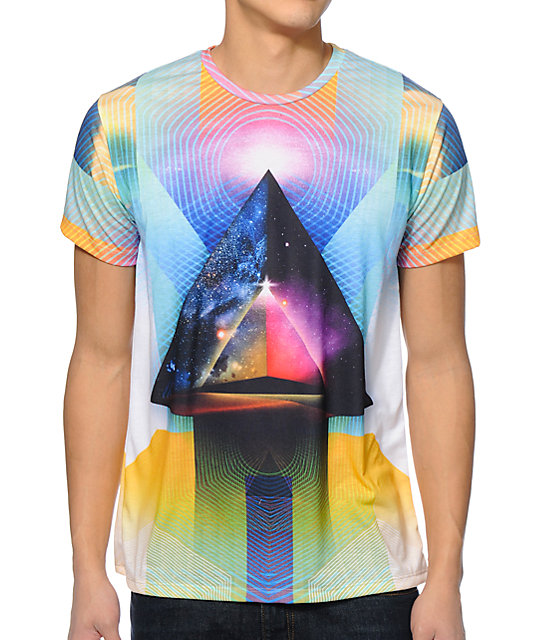Imaginary Foundation Inward Traveler Sublimated T-Shirt
