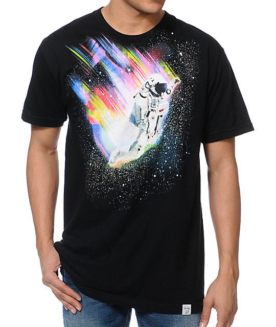 Imaginary Foundation Leap Black T-Shirt