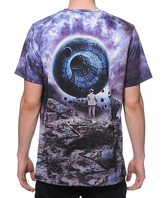 Imaginary Foundation Liminal Purp Sublimated T-Shirt