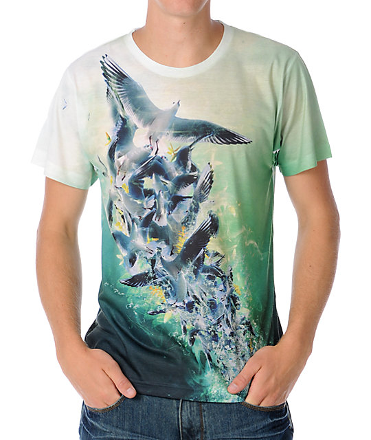 Imaginary Foundation Mens Untitled Dream Natural T-Shirt