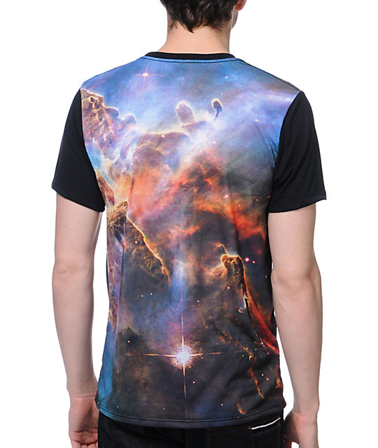 Imaginary Foundation Nebula Black Sublimated T-Shirt