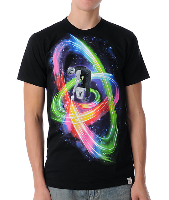 Imaginary Foundation Paint Light Black T-Shirt