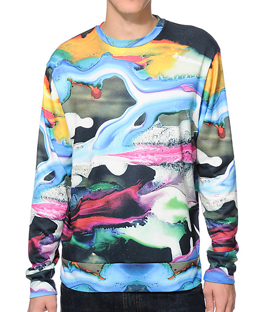 Imaginary Foundation Paint Sublimated Crew Neck Sweatshirt