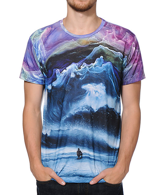 Imaginary Foundation Peaks Sublimated T-Shirt