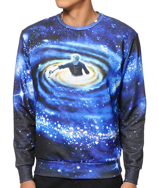 Imaginary Foundation Personal Universe Crew Neck Sweatshirt