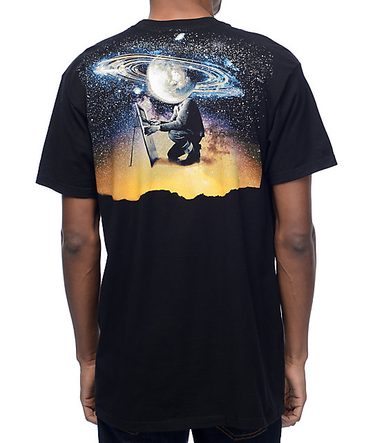 Imaginary Foundation Planetary Dawn Black T-Shirt