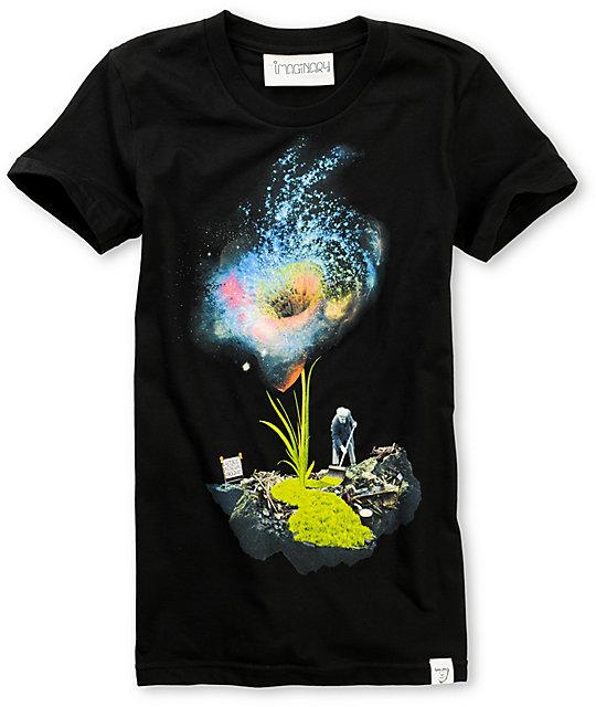 Imaginary Foundation Renewal Black T-Shirt